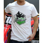 _Camiseta GMX Dirt Passion Blanca | PU-TGMXDPWT | Greenland MX_