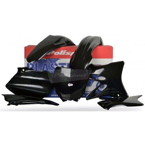 _Kit Plásticos Polisport Yamaha YZ 125/ 250 06-14 Negro | 90393 | Greenland MX_