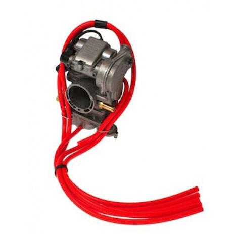 _Kit Tubos Sobrante de Carburador 2T 4MX Rojo | 4MX-CVRD | Greenland MX_