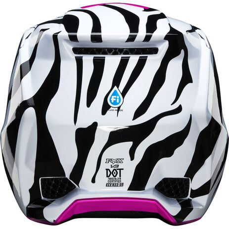 _Casco Fox V3 Zebra Limited Edition | 23659-559 | Greenland MX_