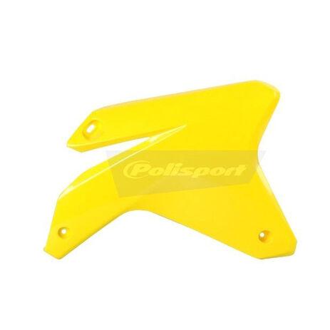 _Tapas Radiador Polisport Suzuki RMZ 450 05-06 Amarillo | 8411400001 | Greenland MX_