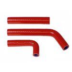 _Kit Tubos de Radiador Silicona Hebo Gas Gas Trial TXT PRO Rojo | HI1101R | Greenland MX_
