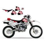 _Kit Adhesivos + Funda Blackbird Honda XR 250/400 96-04 | 8105 | Greenland MX_