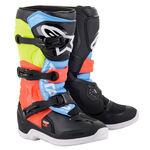 _Botas Infantiles Alpinestars Tech 3S Negro/Gris/Amarillo | 2014018-1538 | Greenland MX_
