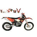 _Kit Adhesivos Blackbird KTM EXC/EXC-F 08-11 SX/SX-F 07-10 | 2527L | Greenland MX_