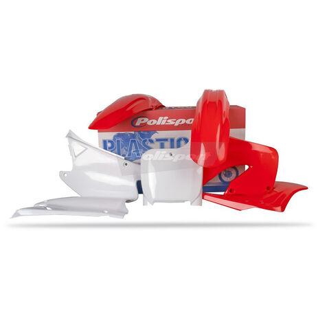 _Kit Plásticos Polisport Honda CR 125/ 250 00-01 | 90081 | Greenland MX_