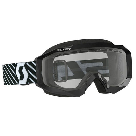 _Gafas Scott Hustle MX Enduro Negro/Blanco | 2625941007043 | Greenland MX_