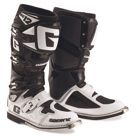 _Botas Gaerne SG12 Limited Edition Blanco/Negro | 2174-014 | Greenland MX_