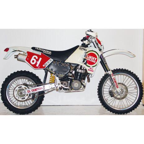 _Kit Adhesivos Tecnosel Replica Team CH Racing Husqvarna 1993 CR/WR 91-94   26V00   Greenland MX_