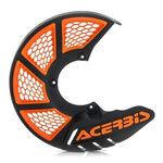 _Protector Disco Delantero Acerbis X-Brake 2.0 Vented Naranja/Negro | 0021846.313 | Greenland MX_