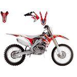 _Kit Adhesivos Blackbird Dream 4 Honda CRF 250 04-09 | 2135N | Greenland MX_