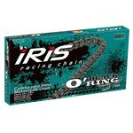 _Cadena Iris Black O´Ring 520 Reforzada Retenes 118 Pasos   91951340118100   Greenland MX_