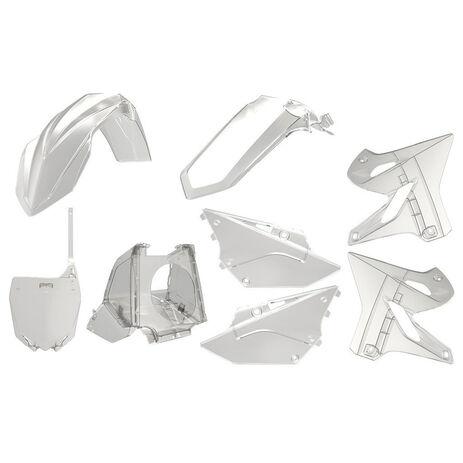 _Kit Plásticos Polisport Restyling YZ 125/250 02-18 Transparente | 90773 | Greenland MX_