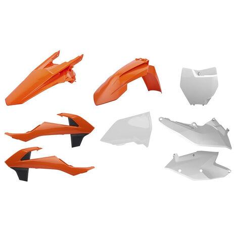 _Kit Plásticos Polisport KTM SX 125/144/250 SX-F 16-..SX 250 17-.. OEM | 90750 | Greenland MX_