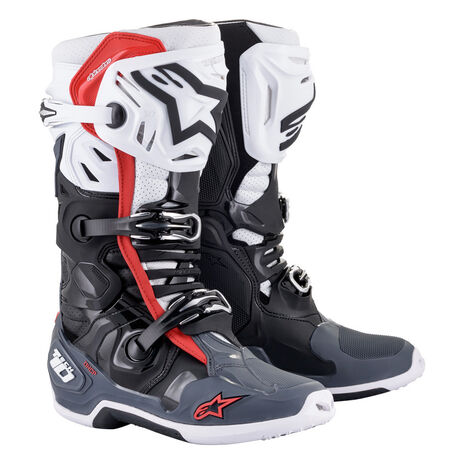 _Botas Alpinestars Tech 10 Supervented Negro/Blanco | 2010520-1213 | Greenland MX_