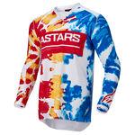 _Jersey Alpinestars Racer Squad Blanco/Amarillo   3762022-2357   Greenland MX_