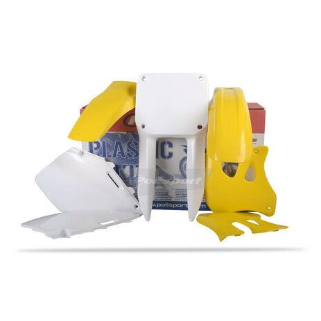 _Kit Plásticos Polisport Suzuki RM 125/ 250 96-98 | 90093 | Greenland MX_