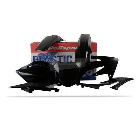 _Kit Plásticos Polisport Honda CRF 250 08 Negro | 90144 | Greenland MX_
