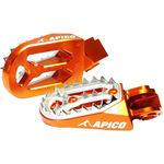 _Estriberas Enduro Apico Pro-bite KTM SX-F 16-18 Husqvarna FC 16-18 Naranja | AP-FPROKTM16OR | Greenland MX_