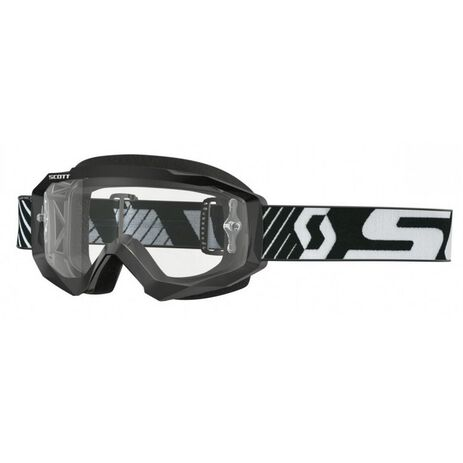 _Gafas Scott Hustle MX Lente Transparente Negro/Blanco | 2625921007113-P | Greenland MX_