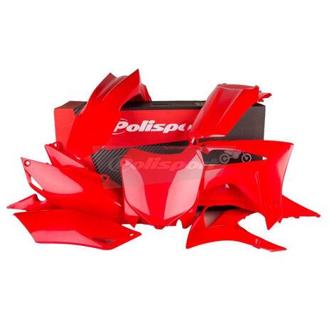 _Kit Plásticos Polisport Honda CRF 250 R 14-17 CRF 450 R 13-16 Rojo | 90628 | Greenland MX_