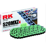 _Cadena RK 520 MXZ4 Super Reforzada 120 Pasos Verde | TC-RKMXZ4G | Greenland MX_