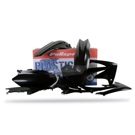 _Kit Plásticos Polisport Honda CRF 250 2010 CRF 450 09-10 Negro | 90212 | Greenland MX_