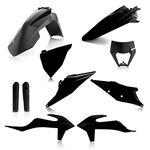 _Full Kit Plásticos Acerbis KTM EXC/EXC F 2020 Negro | 0024054.090-P | Greenland MX_