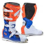 _Botas Forma Terrain TX Naranja/Blanco/Azul | FORC350-169811 | Greenland MX_