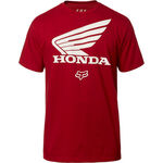 _Camiseta Fox Honda SS Granate | 23144-465-P | Greenland MX_