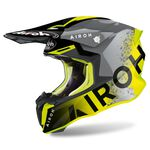 _Casco Airoh Twist 2.0 Bit Amarillo | TW2BI31 | Greenland MX_