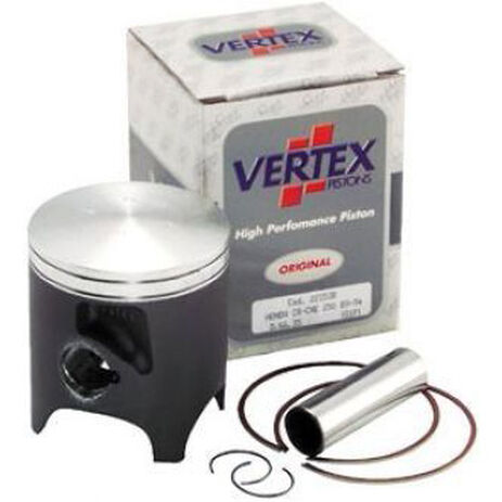 _Pistón Vertex Suzuki RM 125 90-99 1 Segmento   2382   Greenland MX_