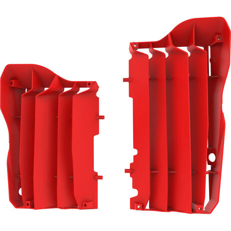 _Kit Rejillas Radiador Polisport Honda CRF 450 R/X 17-18 Rojo   8462900002   Greenland MX_