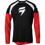 _Jersey Shift Whit3 Label Race Negro/Rojo | 24128-017 | Greenland MX_