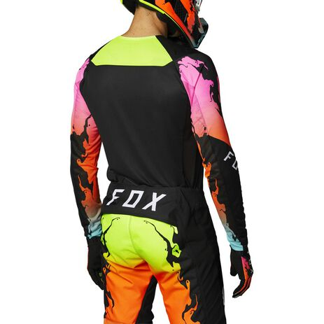 _Jersey Fox Flexair Pyre LE Negro | 26730-001-P | Greenland MX_