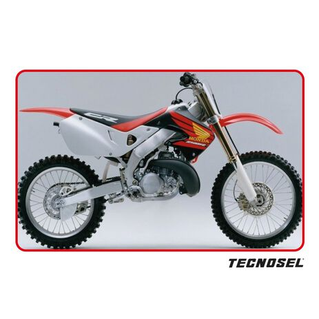 _Kit Adhesivos Tecnosel Replica OEM Honda 1998 CR 125 98-99 CR 250 97-99 | 21V04 | Greenland MX_