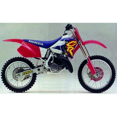 _Funda De Asiento Tecnosel Replica OEM Honda 1995 Honda CR 125 93-97 CR 250 92-96 | 11V06 | Greenland MX_