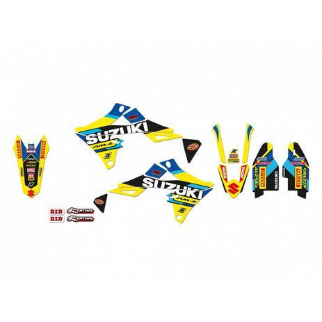 _Kit Adhesivos Blackbird Réplica Team Restyle Suzuki RMZ 250 19-20 RMZ 450 18-20 | 2320R7 | Greenland MX_