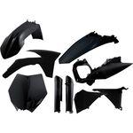 _Full Kit Plásticos Acerbis KTM SX 125/150/250 2012 SX-F 250/450/505 11-12 Negro | 0015702.090-P | Greenland MX_