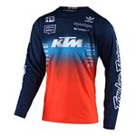 _Jersey Troy Lee Designs GP Air Stain'd Team Azul Marino/Naranja | 30478302-P | Greenland MX_
