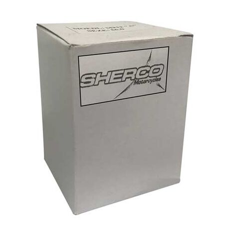 _Guardabarros Delantero Sherco End 450 08-09 Negro | SH-1244 | Greenland MX_