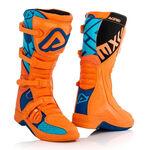 _Botas Acerbis X-Team Naranja/Azul | 0022999.204 | Greenland MX_