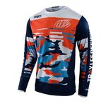 _Jersey Troy Lee Designs GP Formula Camuflaje Azul | 307982022-P | Greenland MX_
