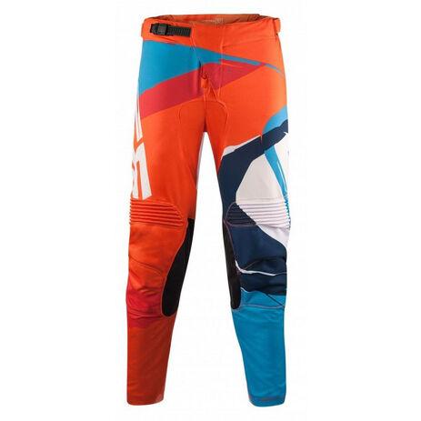_Pantalón Acerbis MX Stormchaser Special Edition Naranja Flúor/Azul | 0022685.204 | Greenland MX_