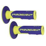 _Puños Pro Grip 801 Azul/Amarillo Flúor | PGP-801YLBL | Greenland MX_