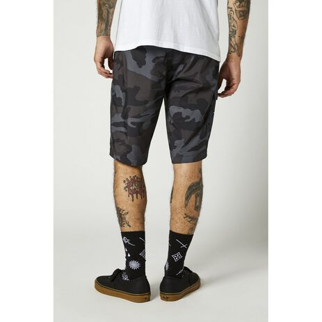 _Pantalón Corto Fox Essex Tech Print Camuflaje Negro | 26917-247-P | Greenland MX_