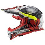 _Casco LS2 Fast EVO MX437 Crusher Negro/Rojo | 404373432-P | Greenland MX_