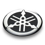 _Adhesivo Resina Original Logo Yamaha | YMD1009300ME | Greenland MX_