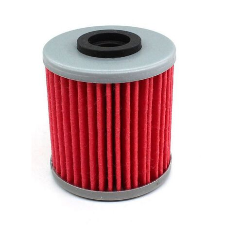 _Filtro de Aceite Hiflofiltro KX 250 F 04-18 KX 450 F 16-19 RMZ 250 04-14 RMZ 450 05-14 | HF207 | Greenland MX_