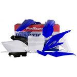 _Kit Plásticos Polisport Yamaha YZ 250 F 10-13 OEM   90272   Greenland MX_